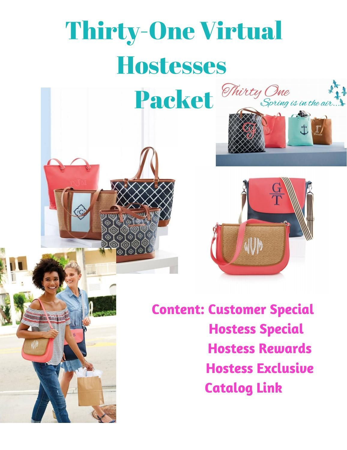 Hostess Packet Thirty One Spring Summer 2018 Thirty One Thirty