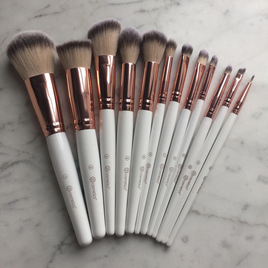 Rose Romance 12 Piece Brush Set by BH Cosmetics #7