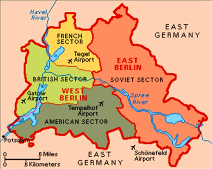 Capital Of Germany Map.Berlin Is The Capital Of Germany Berlin Was Also Split Up Between