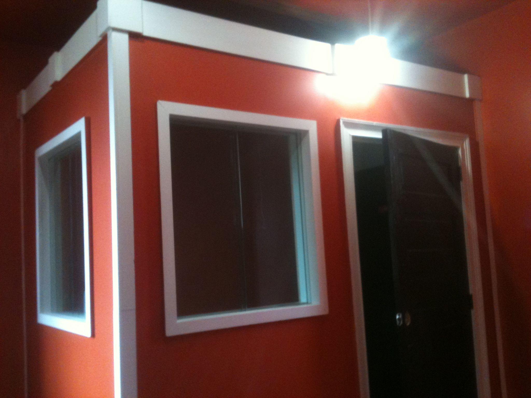 Freestanding Sound Proof Recording Booth Double Door