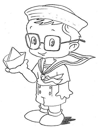 Fun Coloring Pages Seaman