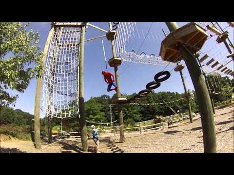 Take Flight Aerial Adventure Course In Kittery Maine High Ropes Zip Lines Spiderman Aerial Adventure