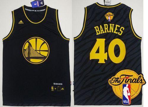 ... Jersey 24.0 Warriors 40 Harrison Barnes Black Precious Metals Fashion  The Finals . Harrison BarnesNba Golden State .