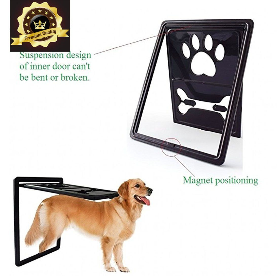 Fation Show Pet Exit,2Way Pet Doors Gates and Ramps for
