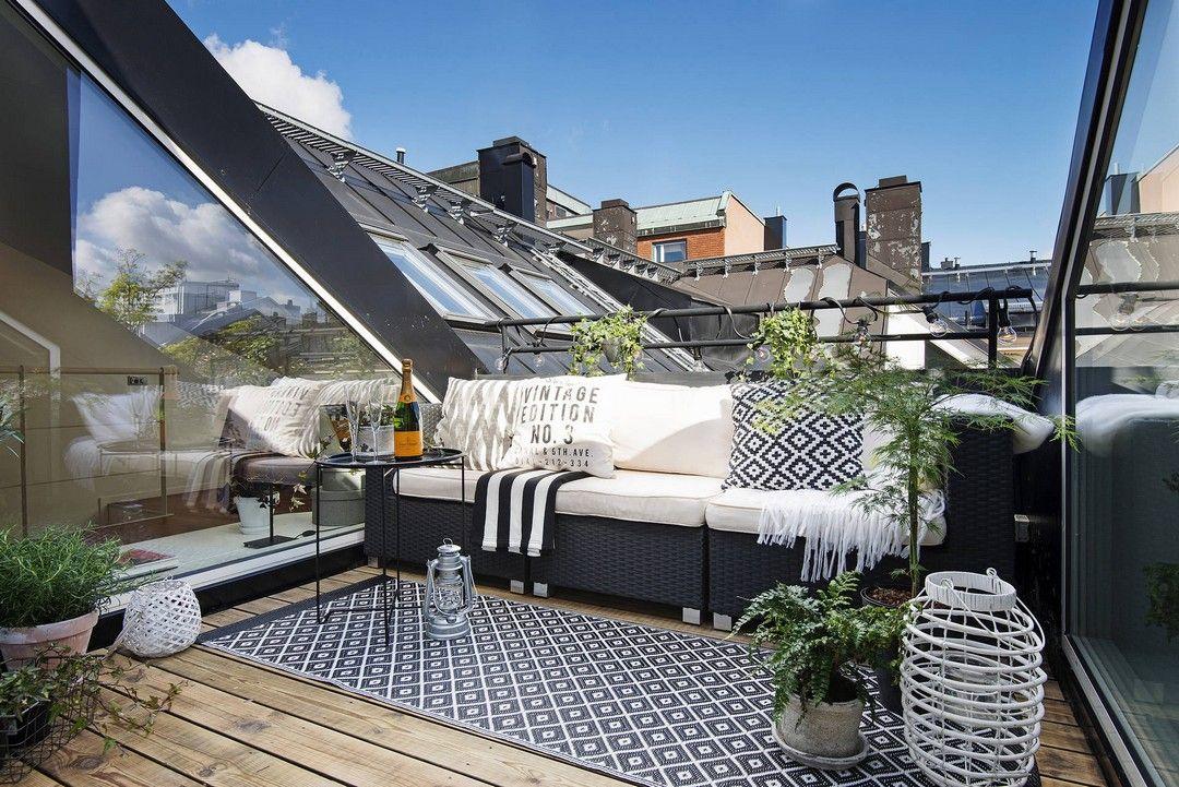 Terrasse tropézienne aménagement pour profiter dun coin de ciel bleu attic ideas lofts and attic