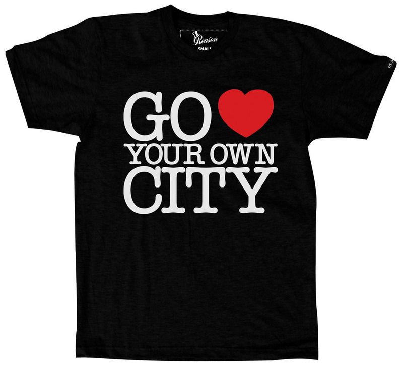 Go Love Your Own City Tee