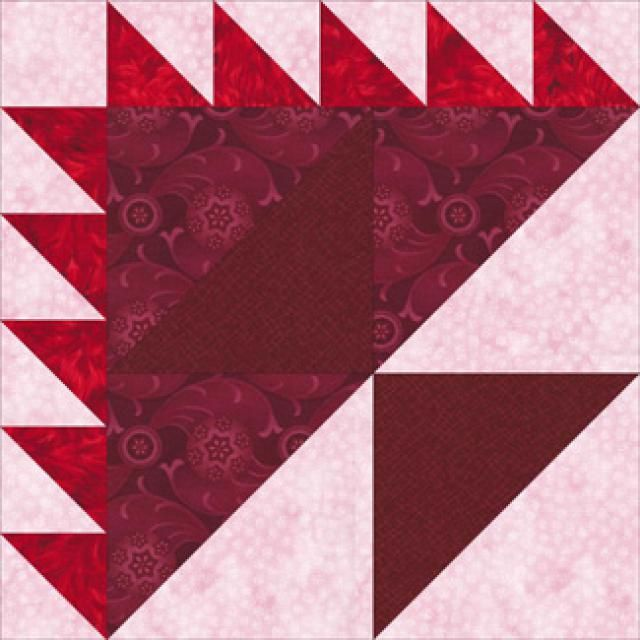 Birthday Cake Quilt Block Pattern