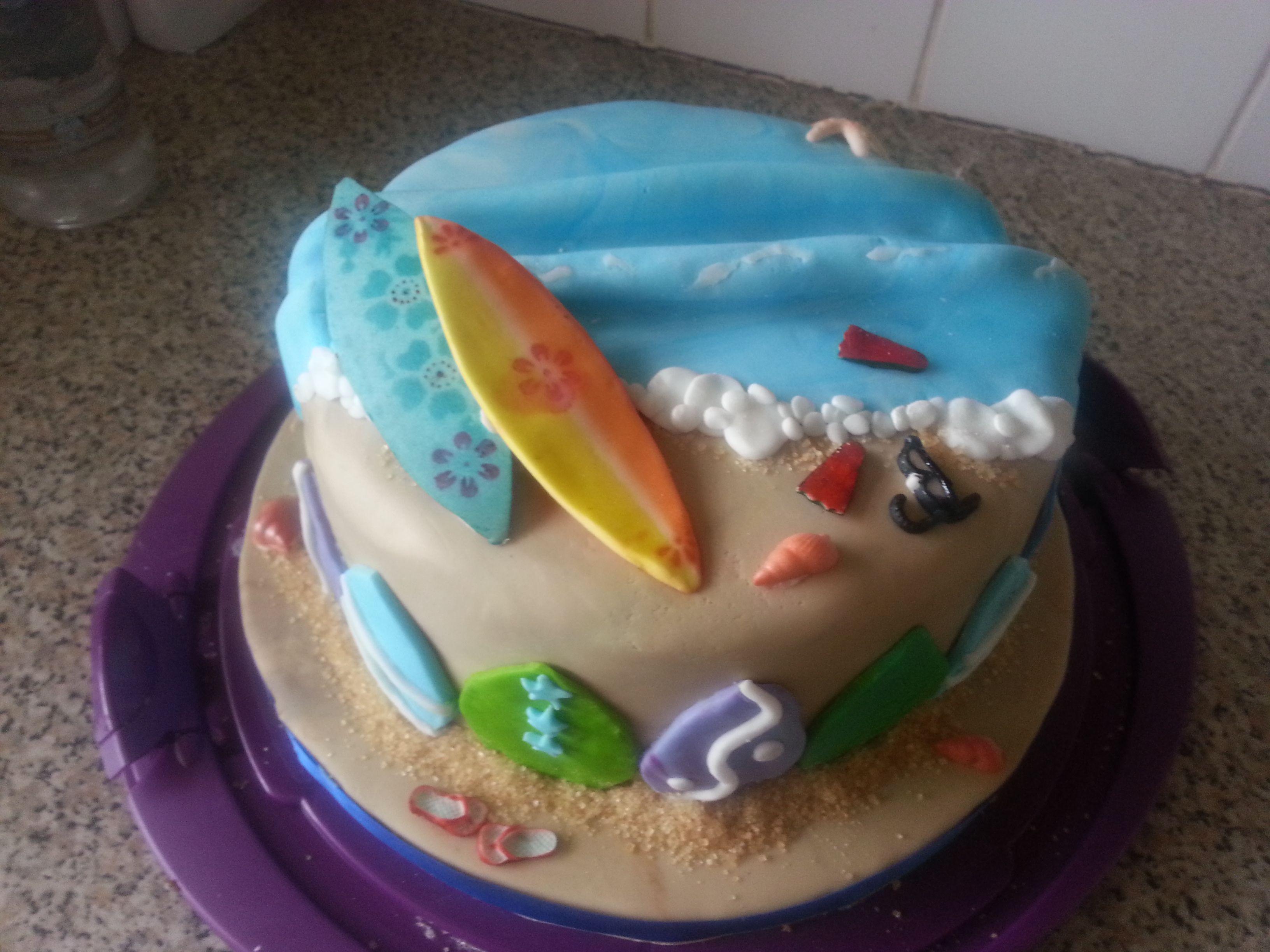 Best 25 Surfing Cakes Ideas On Pinterest Surf Cake