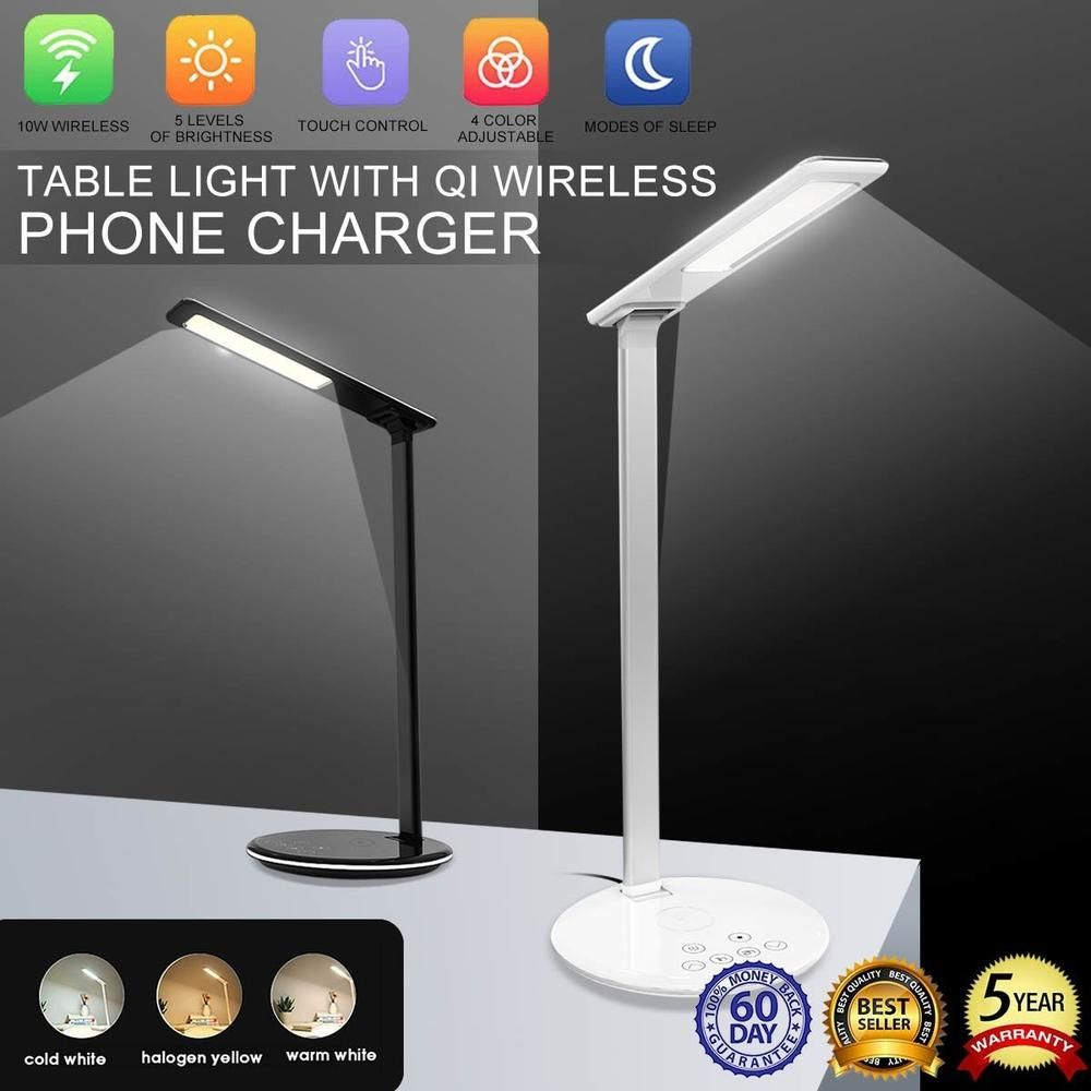 Led Touch On Off Switch Desk Lamp Children Eye Protection Student Study Reading Dimmer Foldable Rechargeable Led Table Lamps Led Table Lamp Lamp Desk Lamp
