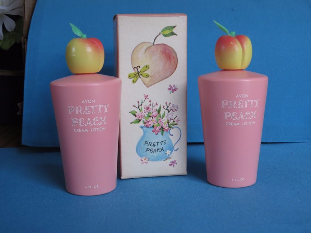 Peach and Gold Lot Two Avon
