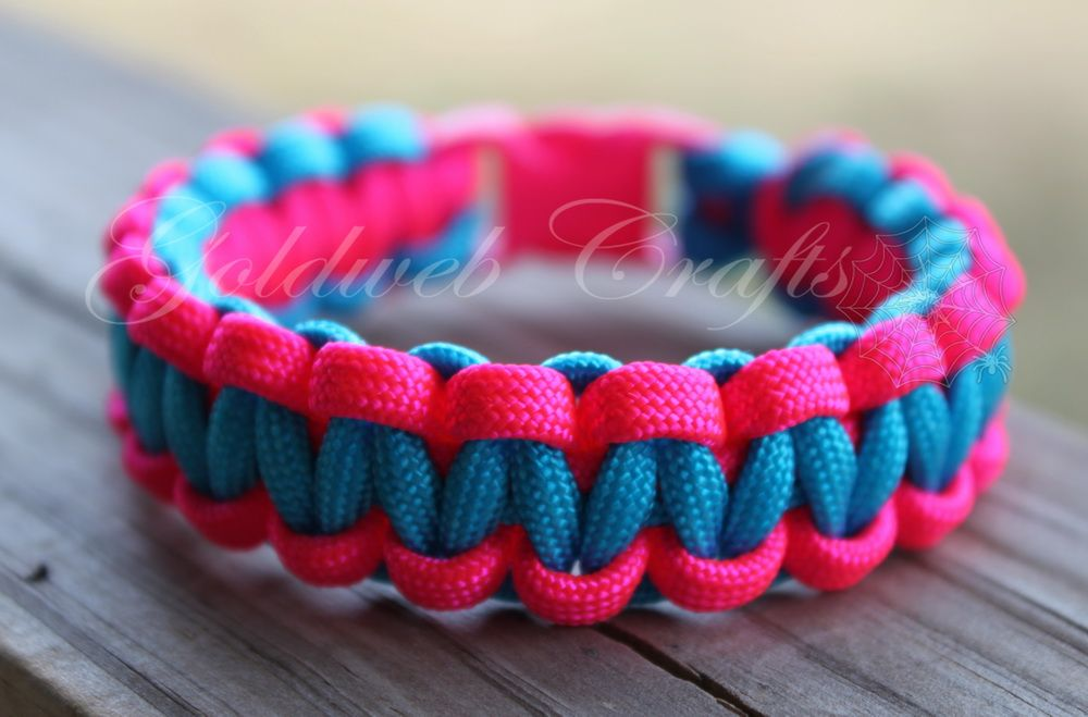 My Paracord Show How To Make A Two Colored Paracord