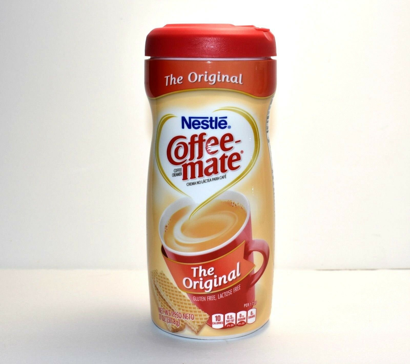 Nestle Coffee-mate Powdered Creamer Canister Original 11 oz (Pack of 4) $25.97  - Coffee Creamer - Ideas of Coffee Creamer #CoffeeCreamer #frenchvanillacreamerrecipe
