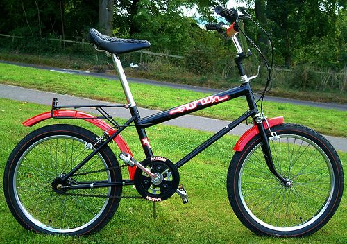 48074cb637e Raleigh Grifter XL. I had this exact bike, with knackered forks too. Like  trying to wheelie a skip.