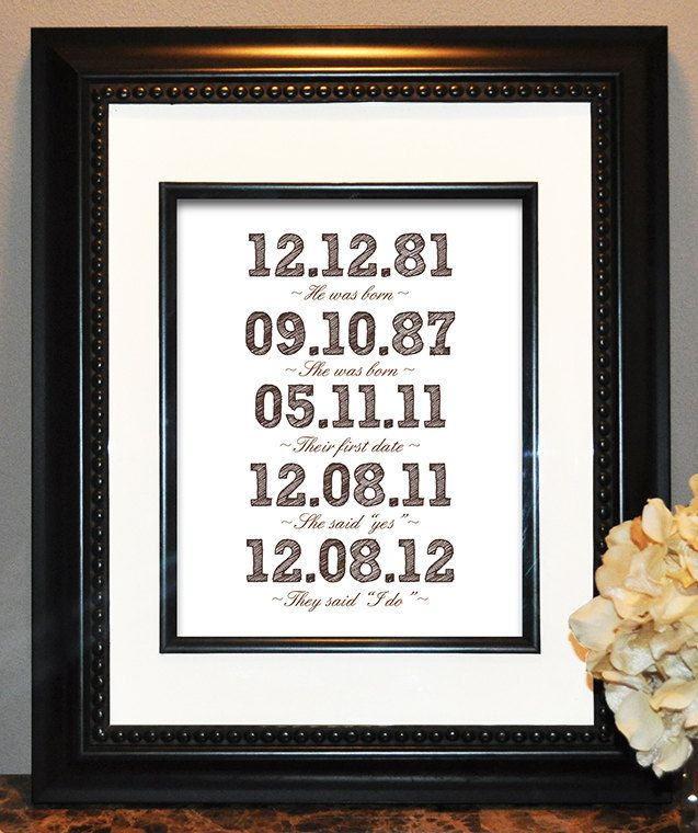 He Asked She Said Yes Engagement Word Art Print Keepsake Gift For