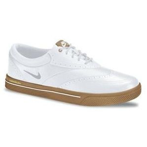 Nike Lunar Swingtip Leather Golf Shoes for Men - White White Deals on Pro  Shops - Clava Leather Golf Shoe Bag Coupons,