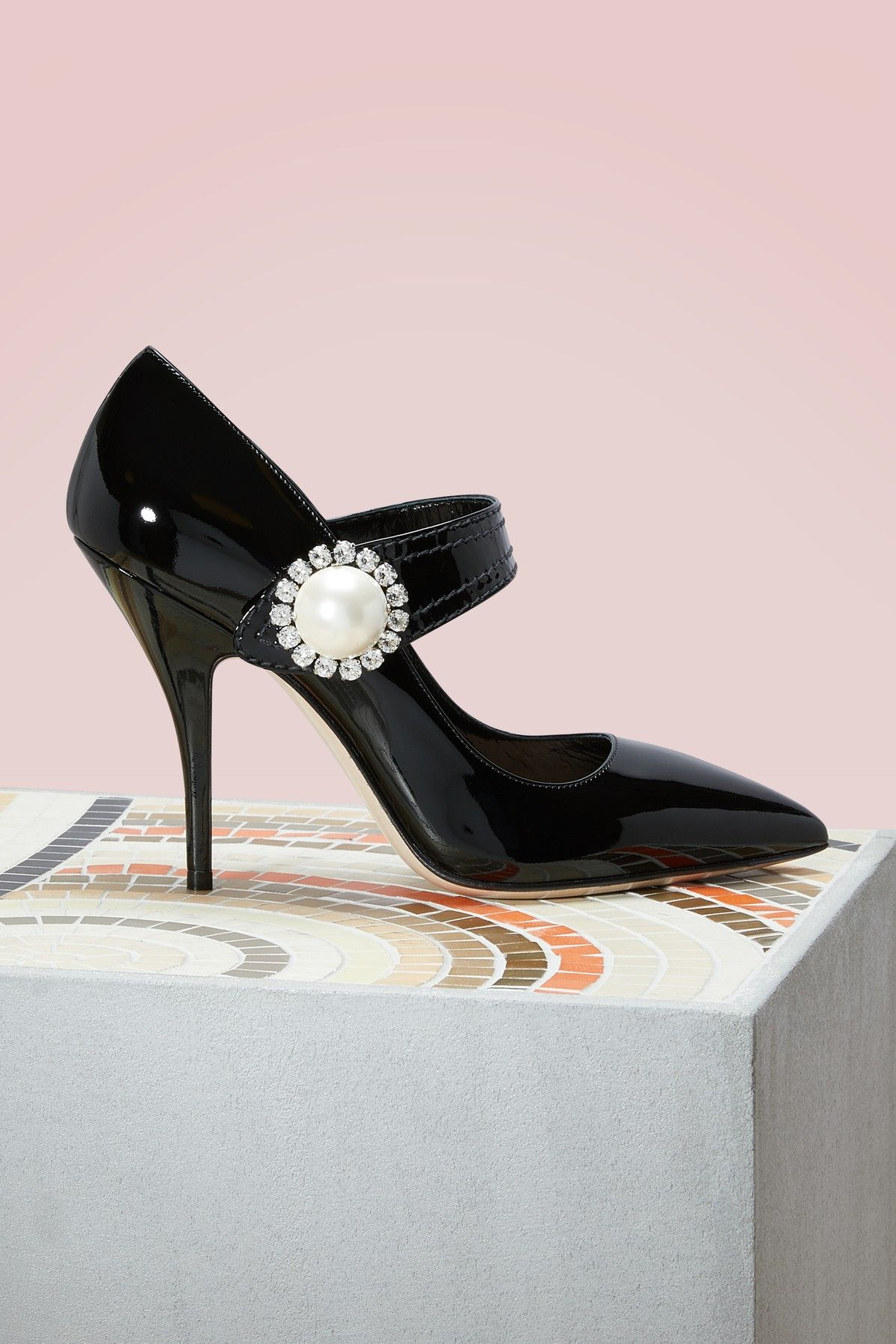 6ea647c6d63a MIU MIU Pearl leather pumps.  miumiu  shoes