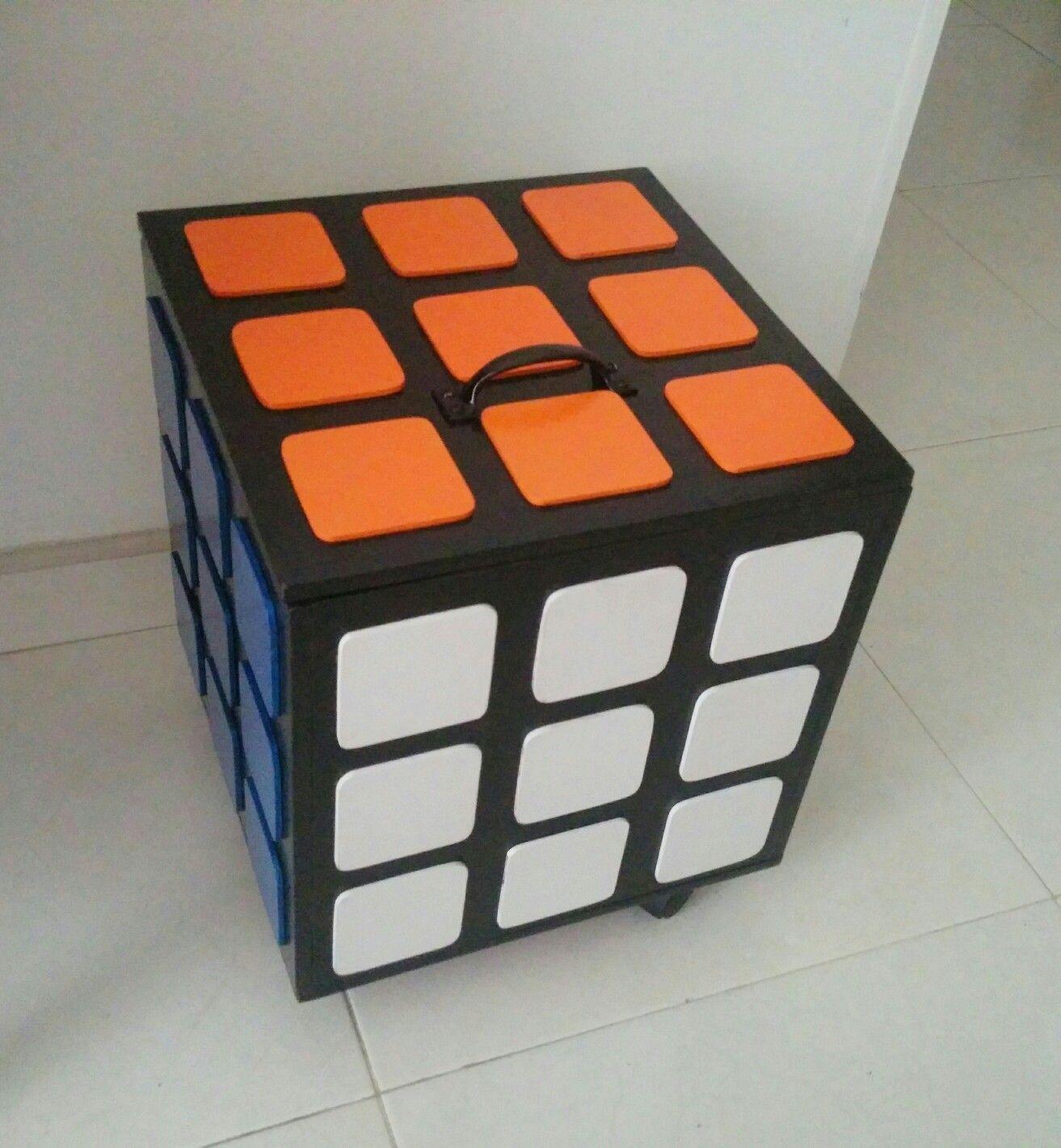Mueble En Forma De Cubo Con Ruedas Rubiks Cube Stuff Pinterest # Muebles Einstein