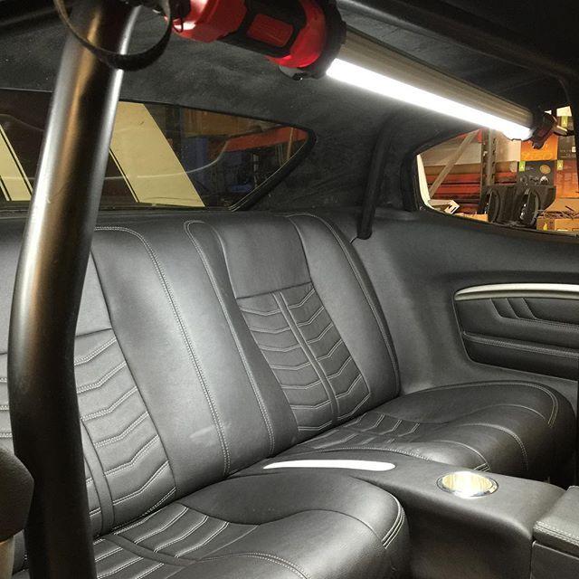 Daniel Williams Djdesigns Custom Chevelle Interior Rear Seat Fesler Door Panels Roll Cage Gaps Are Tight Custom Car Interior Chevelle Camaro Restoration