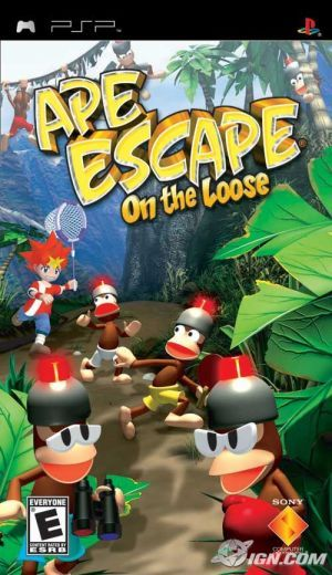 Ape Escape On The Loose Psp Game Apes Psp Psp Video Game