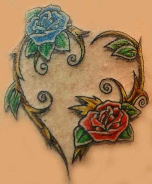 54f2907e4f31d Fotos - Heart Tattoo Design Rose Tattoo Design Free Tattoo Designs ...