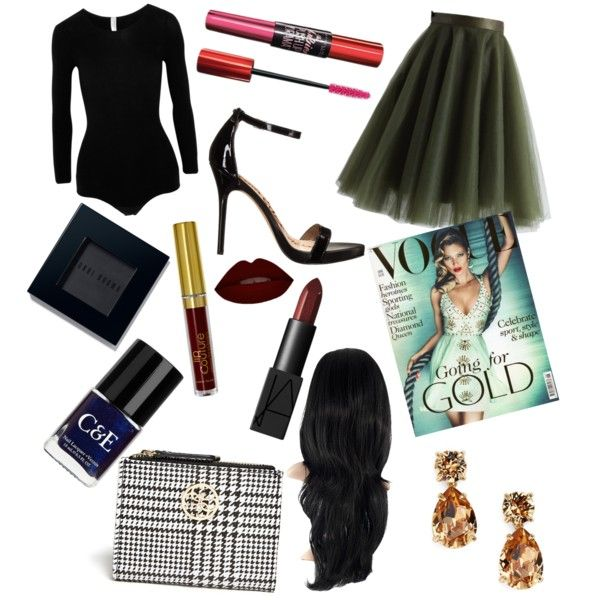 #8834060 by breona-nytalia on Polyvore featuring polyvore fashion style Commando Sam Edelman NARS Cosmetics Bobbi Brown Cosmetics Crabtree & Evelyn Chicwish GUESS Kate Spade Maybelline