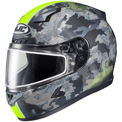 Hjc 1151 1833 10 Cl 17 Void Graphic Snow Helmet 4xl Hi Vis