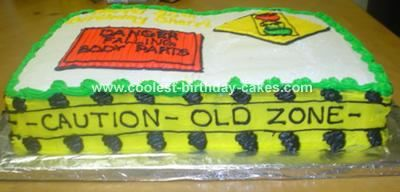 Coolest Over The Hill Cake Cake Birthday cakes and Funny cake