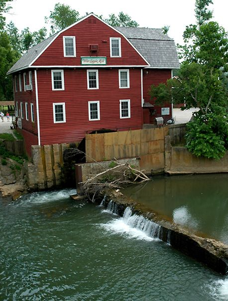 War Eagle Mill Is A Working Gristmill In Benton County Arkansas
