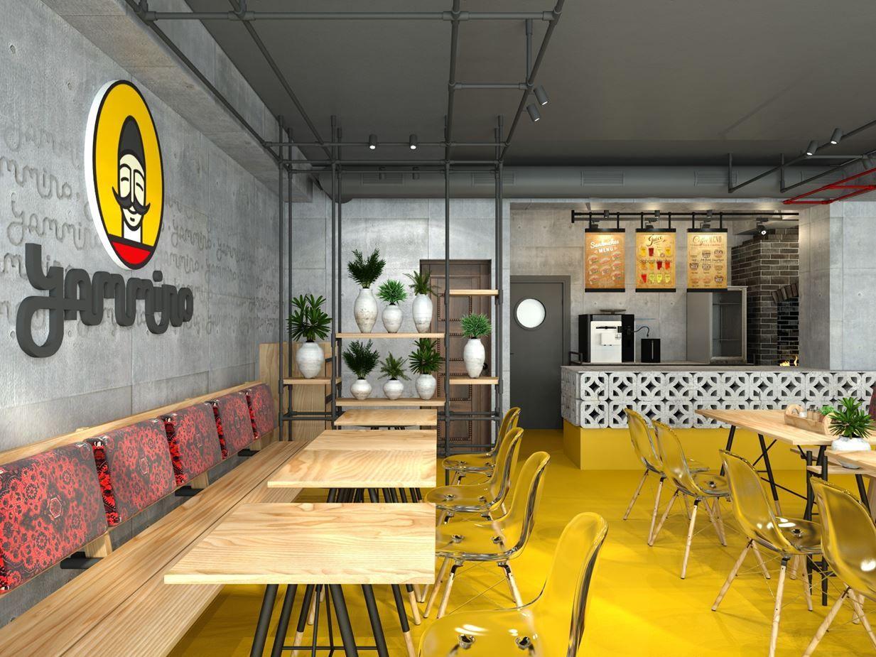 Design Eco Fast Food Picture Gallery Small Restaurant Design