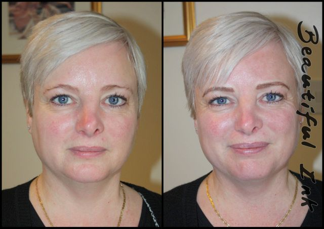 Before and after permanent makeup eyebrows | Permanent ...