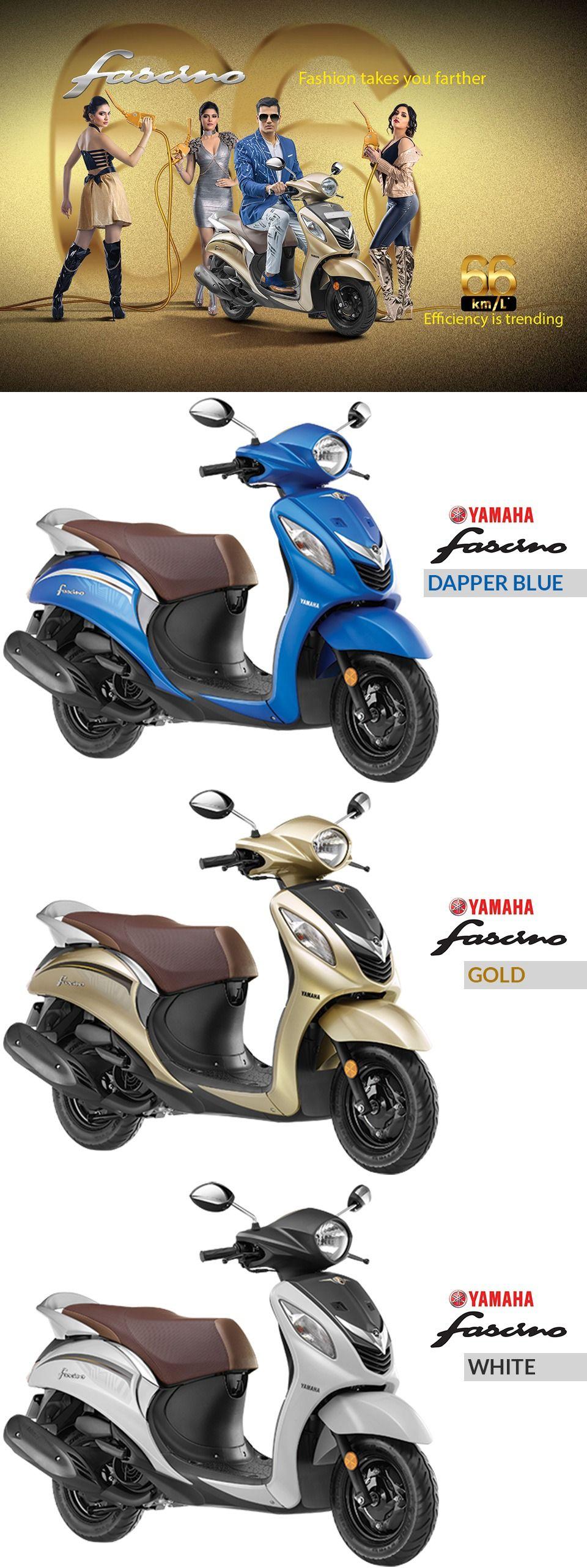 Yamaha Fascino Model Power Mileage Safety Colors Yamaha