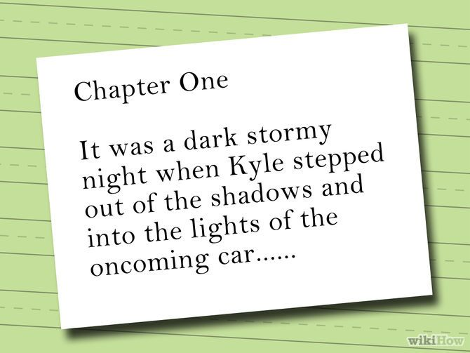 Write a Short Detective Story - how to write a