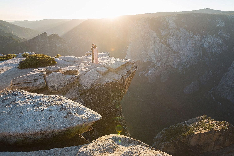 Taft Point Sunset Yosemite Wedding Photographer