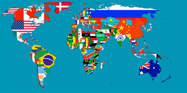mapa com os paises 25 mapas que não nos ensinam na escola | Criatividade | Pinterest mapa com os paises