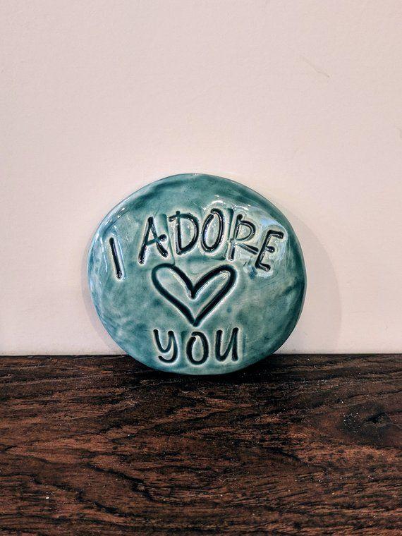 Ceramic Stones Handmade Words and Phrases