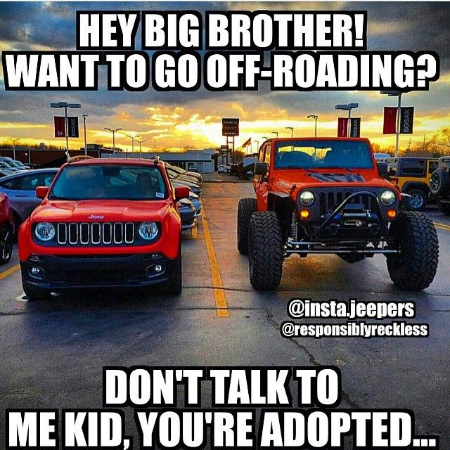 Instagram Post By Jeep Memes By Major League 4x4