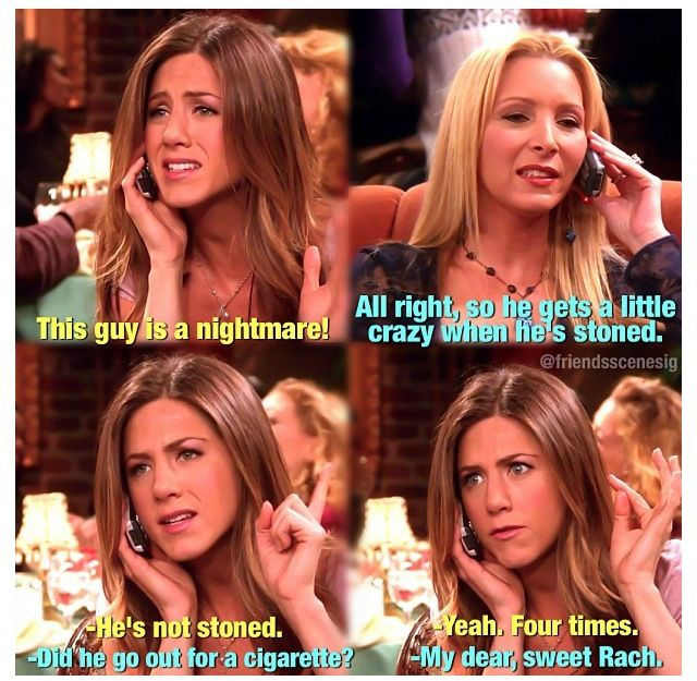 Rachel Green Dating History: 'Friends' Characters She ...