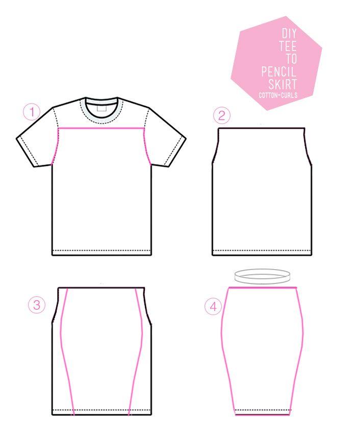ttoskirt | Sewing @ home | Pinterest | Costura, Ropa y Reciclaje de ropa