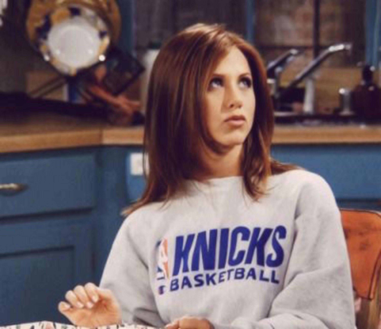 90s Tv Shows 90s Tv Shows Knicks Basketball Sweatshirt Nba Sweatshirt Friends Sweatshirt Jennifer Aniston Sweatsh In 2020 Jennifer Aniston Cagney And Lacey Tv Stars