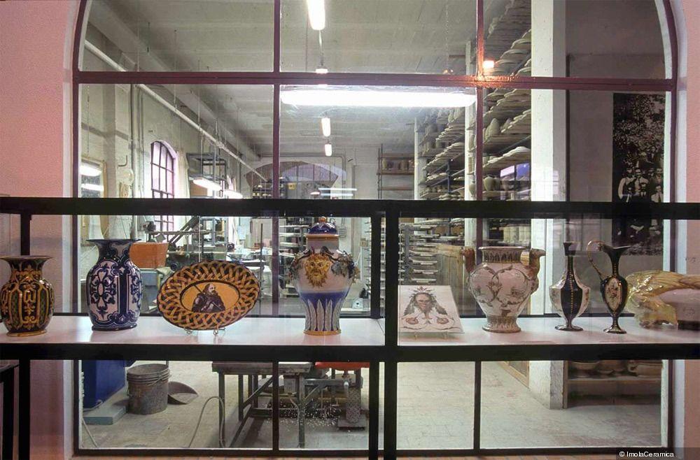 Museo-Centro di documentazione storico-artistica G.Bucci #Sala #autori #imola #ceramica