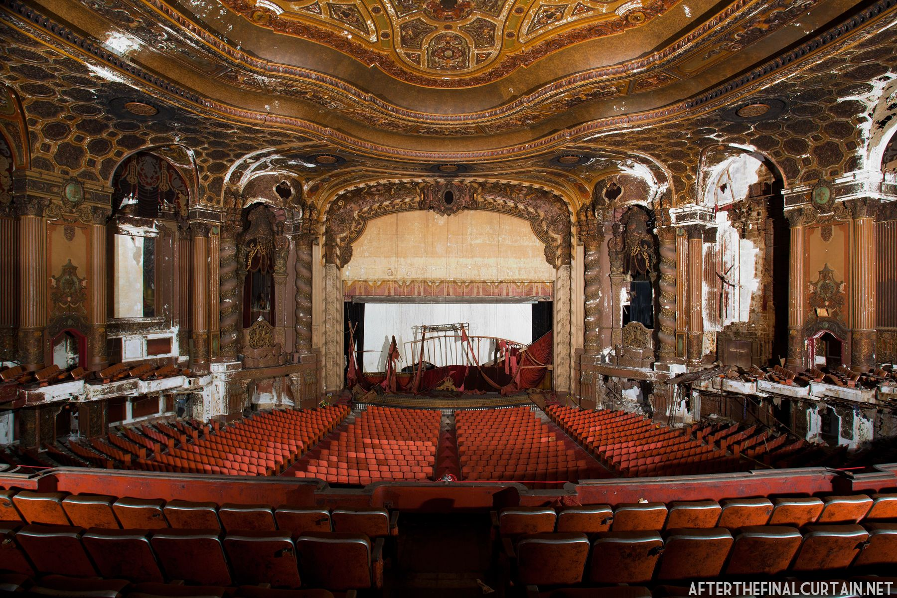 Loews kings theatre abandoned mansions new york movie