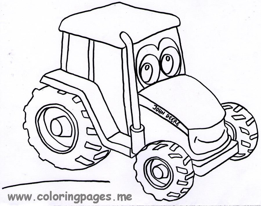 john deer coloring pages John Deere Coloring Page Free Printable | Aidens 2nd birthday  john deer coloring pages