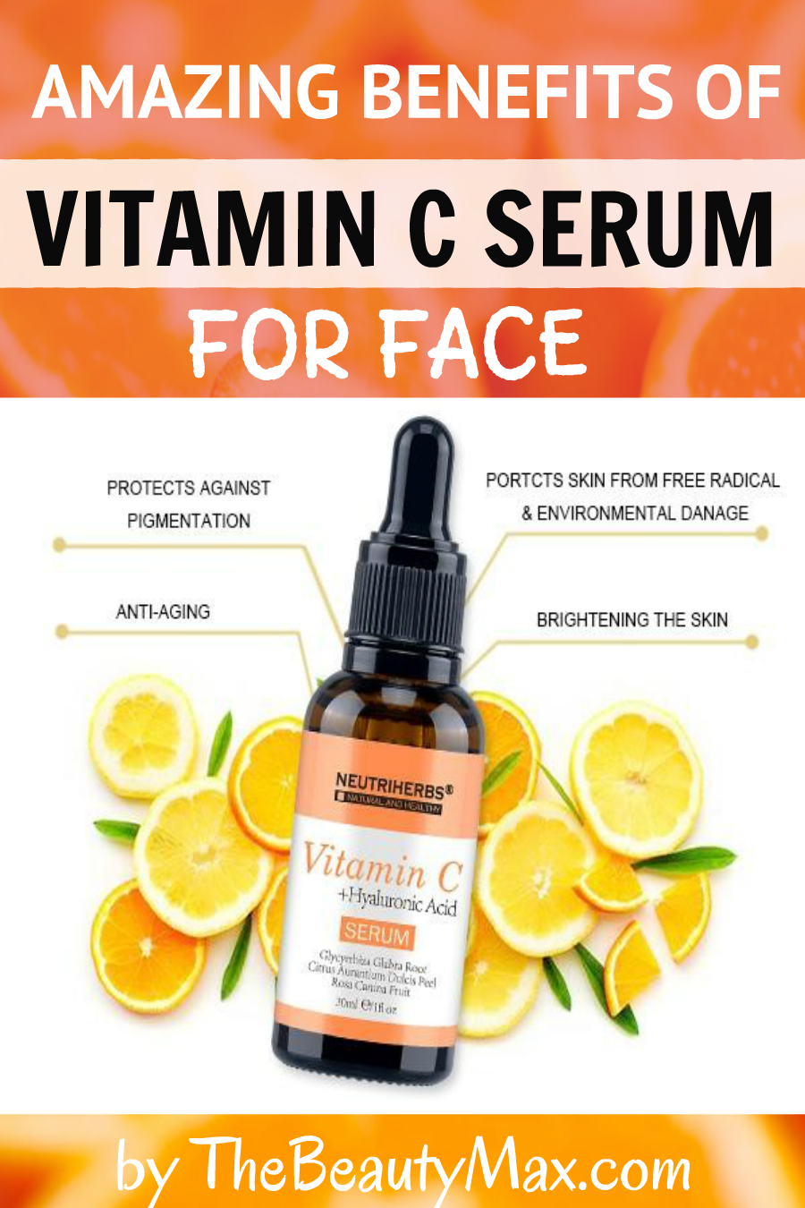 Check Out These Amazing Benefits Of Vitamin C Serum Vitamin C Benefits Vitamin C Serum Vitamin C