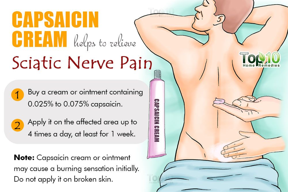 how can i relieve sciatic nerve pain