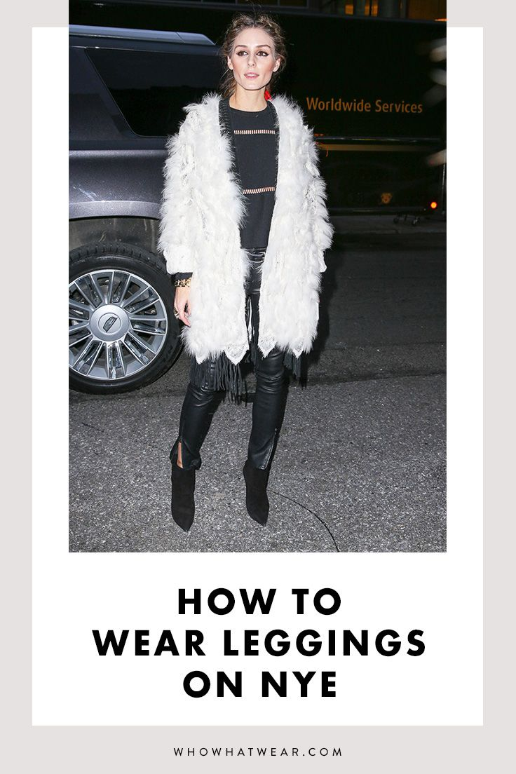 5 Ways to Wear Leggings on NYE Holiday fashion, How to