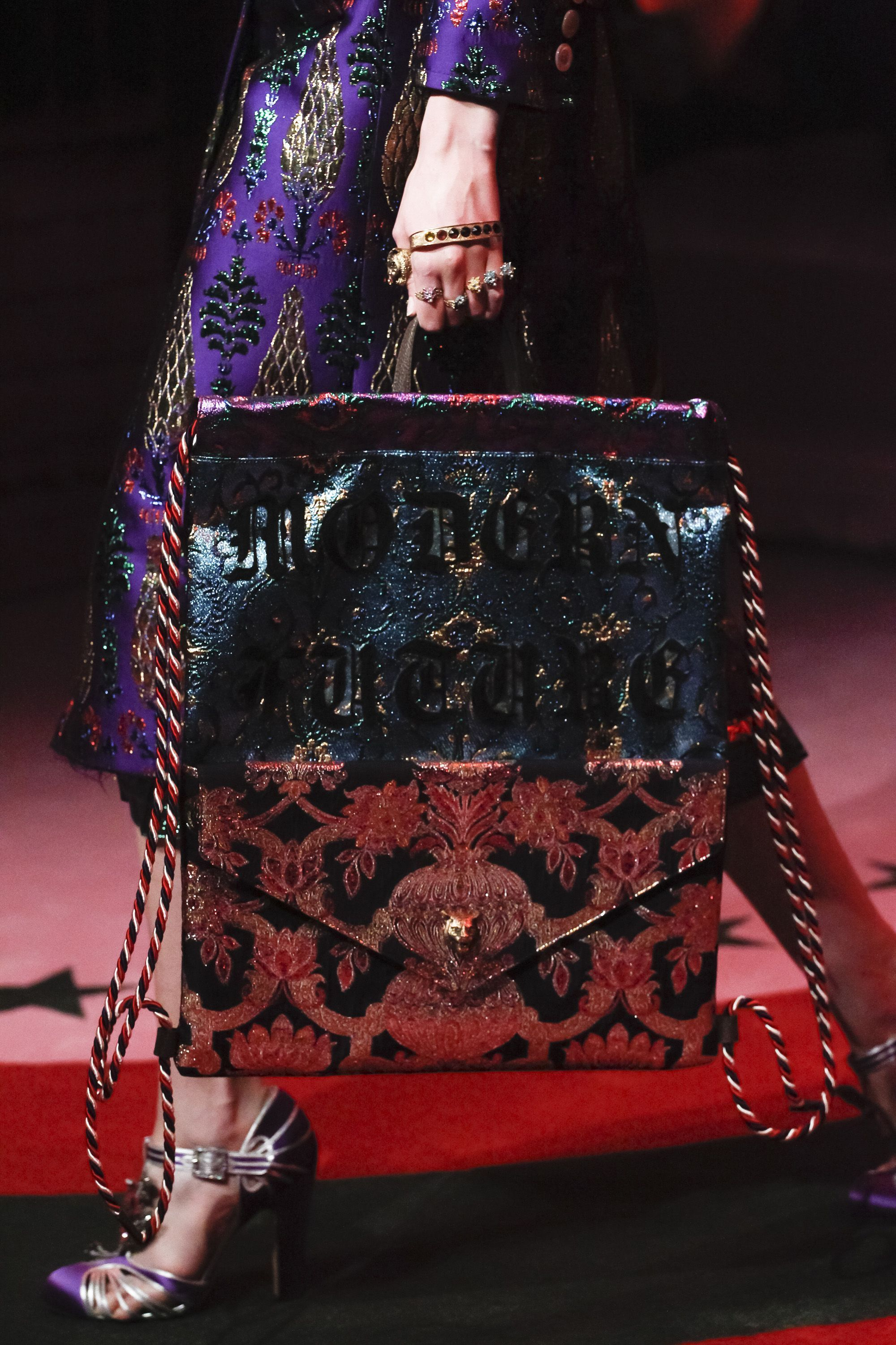 Gucci Love Dark Sparkle Inspiration Fashion Handbag Drool