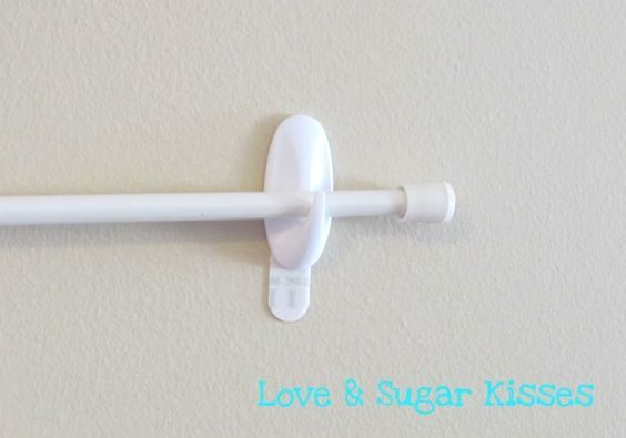Cheap Curtain Rod Command Hooks For Hanging Temporary Party