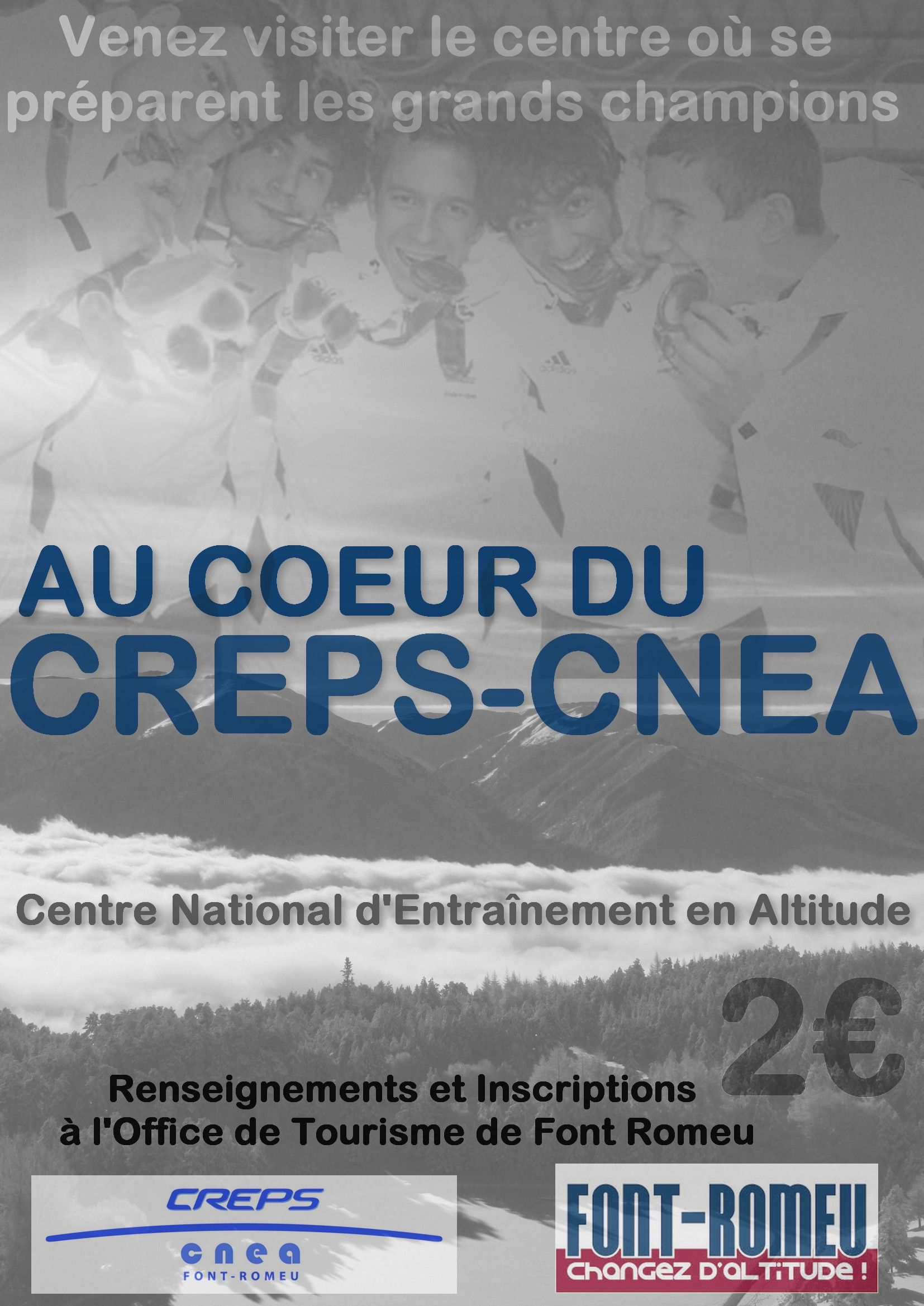 Visite du CREPS CNEA, février 2015