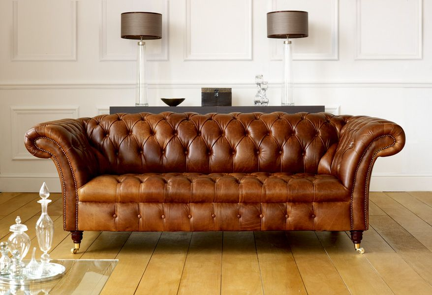 Perfect Darwin 3 Seater Chesterfield Sofa Fly Away Arms, Turned Legs And Castors |  Neutral Interiors | Pinterest | Chesterfield Sofa, Chesterfield And Darwin