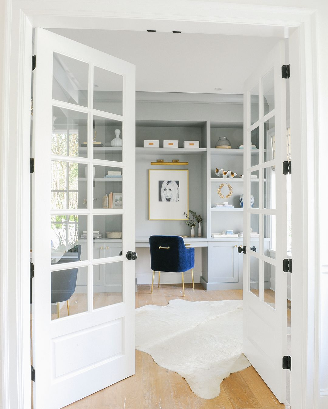 BM Coventry Gray Cabinets. Monika Hibbs On Instagram